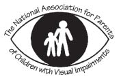 Logo: NAPVI�� National Association of Parents of Children with Visual Impairments